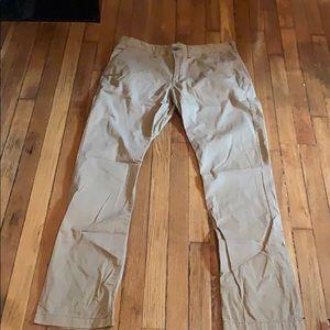 Express brown/Khaki pants. Size 34